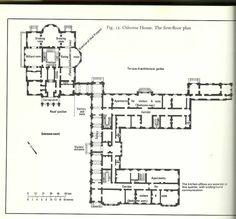 Floor plan of Osborne House.