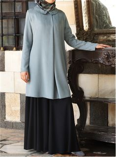 SHUKR+UK+|+Centre+Pleat+Tunic