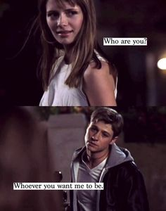 """""""Who are you?"""" -Marissa Cooper """"Whoever you want me to be."""" -Ryan Atwood- OC!! Miss it"""