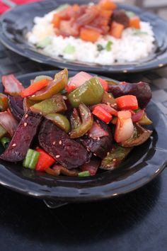 Roasted Asian Vegetables - Little Leopard Book