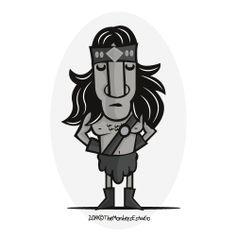 El gran héroe mítico Conan El Bárbaro