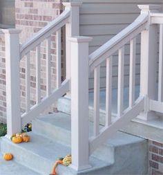 Best Outdoor Stair Railing Vinyl Pvc Railing Installation 400 x 300