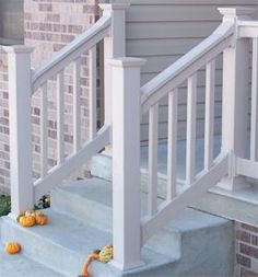 outdoor stair railings handrails | Railings and Columns « Exterior Building Products | Roofinig ...