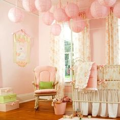 Beautiful Baby Girl room...