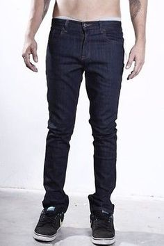 Rvca Holidays 2013 Mens Clothing Jeans Spanky Denim  Sexy Right