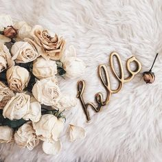 hello, flowers, and rose image Hello Monday, Hello Weekend, Hello Hello, Happy Monday, Collage Vintage, Belle Photo, Cute Wallpapers, Girly Things, Pretty