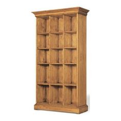 World Bookcase in Solid Pine | Nebraska Furniture Mart