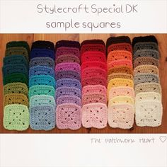 The Patchwork Heart: The Stylecraft Blog Tour ~ The Paintbox Blanket