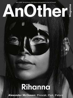 ROC NATION | Rihanna Covers AnOther Magazine in Alexander McQueen