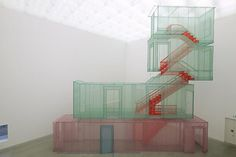 Korean Artist Do Ho Suh:  To-Scale Replicas Of Actual Buildings With Silk And Nylon