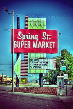 Spring Street Supermarket  Cookeville on pinterest? Represent.
