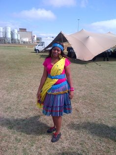 Tsonga (Shangaan) traditional wear