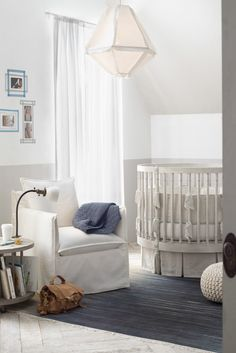 """""""how to design your dream nursery"""" by rh baby & child, katie martinez design, and mothermag.com."""