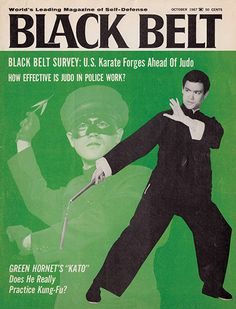 Credit: Bruce Lee Estate Bruce Lee's first appearance in Black Belt magazine was as Kato from the TV show Green Hornet