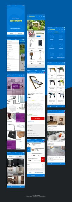 Castorama is the biggest home improvement chain store in Poland (70 locations). As part of ongoing relationship focused on developing and improving digital products, we've design mobile app. We were responsible for user experience and visual design.