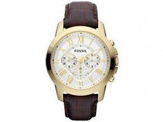 Relógio Masculino Fossil FFS4767/Z - Analógico Resistente á Água com Cronográfo