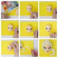 Elsa face tutorial 3