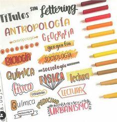 Bullet Journal School, Bullet Journal Titles, Bullet Journal Banner, Journal Fonts, Bullet Journal Notebook, Bullet Journal Aesthetic, Daily Journal, Lettering Brush, Lettering Tutorial