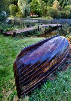 Parked Boat by PeterYoung1 on flickr