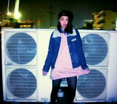 SWIVEL SLUM DIVE photo model.SAKI http://s.ameblo.jp/sakinesss  street.Kobe Japan