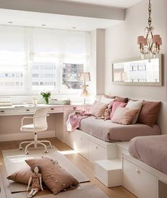 Teen Bedroom Ideas - Develop a space filled with personal expression, motivated by these teen room suggestions. Whether young boy or girl, infiltrate as well as find a style that fits. Dream Rooms, Dream Bedroom, Teen Bedroom, Bedroom Decor, Bedrooms, Bedroom Ideas, Young Adult Bedroom, Bedroom Themes, Dispositions Chambre