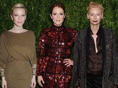 Cate Blanchett, Juliann Moore e Tilda Swinton.