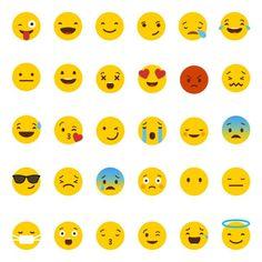 Emoji SVG files Yellow smiley vector files emoji by Linescut Design Set, Icon Design, Web Design, Vector Whatsapp, Whatsapp Logo, Instagram Logo, Vector File, Vector Icons, Vector Vector