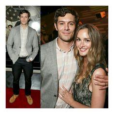 Seth e Blair 😍! #AdamBrody e #LeightonMeester, ontem à noite o casal compareceu a uma festa no The London Hotel, em Los Angeles, para comemorar o lançamento da série StartUp, da qual Adam faz parte do elenco. (📸 WireImage/Getty)