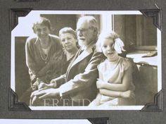 Freud, Anna: Freud, Marie: Freud, Sigmund: Seidmann, Angela  Date: 1929
