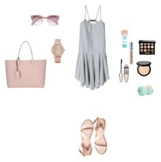 """""""M"""" by butnotperfect ❤ liked on Polyvore featuring even&odd, ALDO, TIBI, River Island, Maybelline, Urban Decay, Bobbi Brown Cosmetics, Eos and Gucci"""