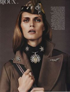 Malgosia Bela by Josh Olins for Vogue Paris August 2010
