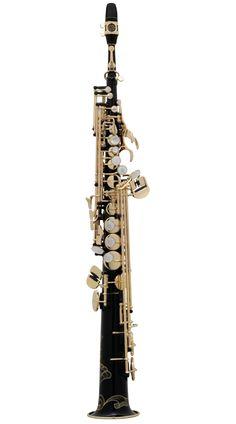 SELMER soprano 'Series III Jubilee' black saxophone outfit