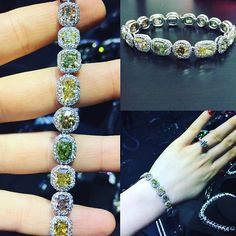 One of a kind multicolor natural  diamond bracelet features 33 cts🔥🔥🔥#DianaMJewels  #HighJewelry #Diamond #FineJewelry #Beautiful #Fashion #WishList #Gift #Gold #InstaJewelry #Luxury #Style #DiamodsForever #VipClients #Gia #Gems #HandMade #Happy #Design #FashionDesign #amazing #awesome #anniversary #gift