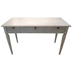 1stdibs.com | Antique Swedish Painted Gustavian Desk 19th Century
