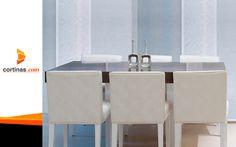 Divide tus espacios con estilo y modernidad.  #ViewLovers  www.cortinas.com Sink, Home Decor, Shades, Spaces, Modern, Style, Homemade Home Decor, Vessel Sink, Sink Tops