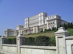 Bucharest, Romania: Guiness Record-holder for the world's largest civilian building, most expensive administrative building, and heaviest building. Bucharest Romania, Spanish Colonial, Worlds Largest, To Go, Louvre, Record Holder, Mansions, Country, House Styles