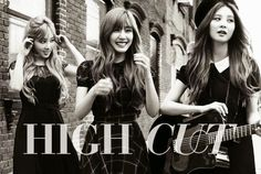 TaeTiSeo pose for High Cut magazine