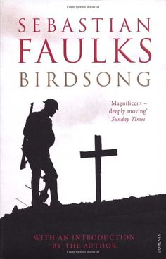 One of the first great books I read as an adult.  It's really gripping and moving.  There is a beautiful contrast between two stories, one of love and one of war.  It's quite full on in the parts about World War One so not for the faint hearted or easily upset, you've been warned!  An excellent read.