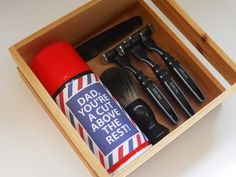 Delightfully Noted: Father's Day Printable: Shaving Kit Label