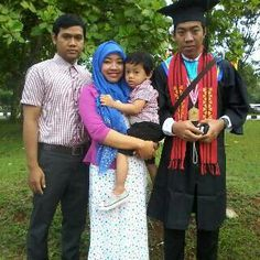 Aufa difoto saat lulusan Om Restu