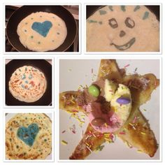 A lovely mix of stars, hearts and smiles #prizepancake