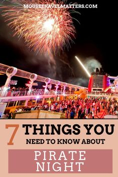 Pirate Night on a Disney Cruise Disney Dream Cruise, Disney Cruise Tips, Disney Love, Disney Parks, Walt Disney, Disney World Resorts, Disney Vacations, Disney Travel, Cruise Holidays