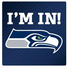 Seattle Seahawks # I'M IN