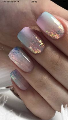 Chic Nails, Stylish Nails, Trendy Nails, Best Acrylic Nails, Acrylic Nail Designs, Foil Nail Designs, Short Nail Designs, Nail Designs Spring, Perfect Nails