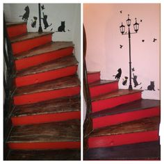 Relooking de mon escalier