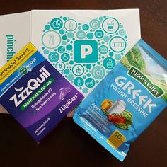 My mini pinchmebox. Thanks @pinchme! #HappyPINCHer #pinchmefreesample #pinchmebox #freesamples #zzzquil #hiddenvalley #freebies