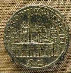 Sestercius of Traian: Circus Maximus