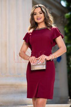 Short Sleeve Dresses, Dresses With Sleeves, Beautiful Dresses, Graduation, Cloths, Fashion, Party, Vestidos, Low Cut Dresses