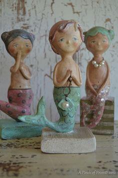 folk mermaids ....