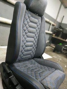 Car Seat Upholstery, Car Interior Upholstery, Automotive Upholstery, Leather Seat Covers, Leather Car Seats, Customised Trucks, Car Console, Custom Car Interior, Car Covers